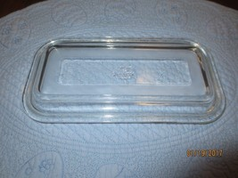 Vintage FIRE KING OVENWARE Clear LOAF Dish TOP ... - $5.00