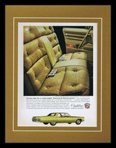 1968 Cadillac Command Performance Framed 11x14 ORIGINAL Vintage Advertis... - $41.71