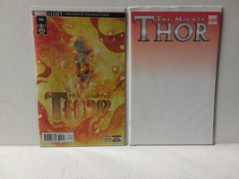 """THE MIGHTY THOR #705 - DEATH OF THOR + THOR #1 """"WHITE COVER"""" - FREE SHIP... - $11.30"""