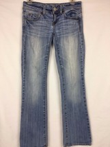 American Eagle Women's Slim Boot Stretch Distressed Jeans Size 0 Short (... - $16.99