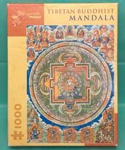 Pomegranate puzzle Tibetan Buddhist Mandala 1000 piece Asian Art Museum ... - $6.00