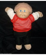 VINTAGE CABBAGE PATCH KIDS BABY DOLL BOY BLONDE HAIR STUFFED ANIMAL PLUS... - $29.92