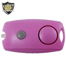 Streetwise Panic Alarm Button PINK Keychain Flashlight Security Loud Pro... - $11.98