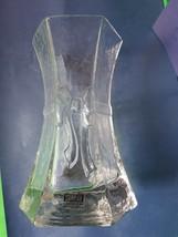 Vintage Svensk Scandinavian Glass VASE Rosetta mark SEA Glasbruk AB Kost... - $27.72