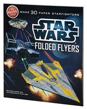 Klutz Star Wars Folded Flyers: Make 30 Paper Starfighters Craft Kit - $18.55