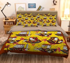 3D Men Picture 2 Bed Pillowcases Quilt Duvet Cover Set Single Queen King... - $64.32+
