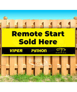REMOTE START SOLD HERE VIPER Advertising Vinyl Banner Flag Sign Many Sizes - $14.24+
