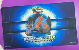 Pokemon Mega Swampert EX Card Game Playmat Premium Collection Mat - $14.84
