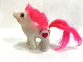Vtg 1984 My Little Pony G1 Baby Hugs Valentine's Day Heart White Mail Order - $22.76