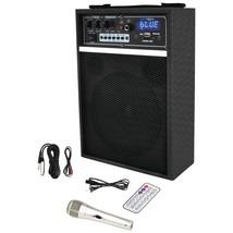 "Pyle Pro 300-watt Bluetooth 6.5"" Portable Pa Speaker System PYLPWMA... - $92.82"