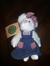 """Boyds Bears Cottage McNibble 7"""" PLUSH Mouse 1999 Retired - $16.14"""