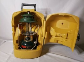 Coleman CLX Double Mantle Lantern 290 date 3/84 w/Clamshell Case date 11-80 - $88.83