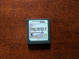Final Fantasy IV (Nintendo DS, 2008) Authentic - $29.70