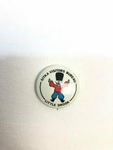 "Vintage 1970 Sitka Visitors Bureau - Little Drook Metal Pin Brooch 1.0"" EUC - $7.42"