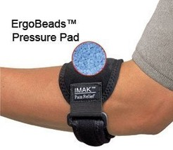 Imak Tennis Elbow Support with Ergobeads by Active Forever - $12.69