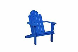 Linon Outdoor Jayde Adirondack, Blue Chair - $248.39
