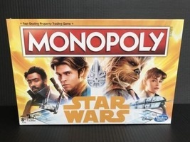 Monopoly Han Solo A Star Wars Story Edition Disney Hasbro Board Game NEW... - $19.95