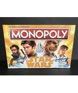 Monopoly Han Solo A Star Wars Story Edition Disney Hasbro Board Game NEW... - £15.19 GBP