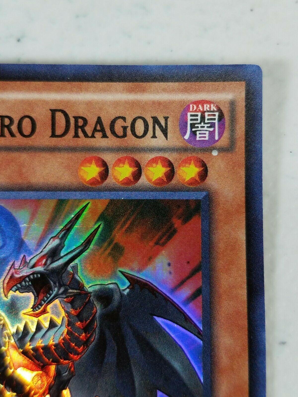 Yu-gi-oh! Trading Card - Red-Eyes Retro Dragon - BOSH-EN095 - Super Rare 1st Ed.