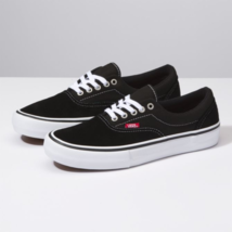Vans Era Pro Black/White/Gum Skateboard Shoes - $59.99
