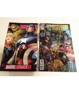 MARVEL LEGACY #1 - QUESADA COVER + INFINITY GAUNTLET #1  - FREE SHIPPING - $18.70