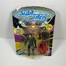 1992 Playmates Star Trek Borg The Next Generation Action Figure w/ Action Base - $29.65