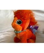 Build A Bear Disney Princess Palace Pets Ariel Cat Treasure Orange Plush... - $21.20