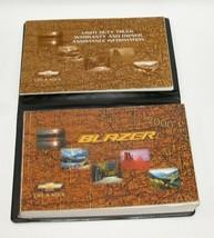 2000 Chevrolet Blazer Factory Original Owners Manual Book Portfolio #36 - $18.76