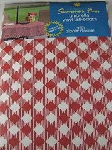 Summer Fun Red and White Diamond Check Flannel ... - $25.02