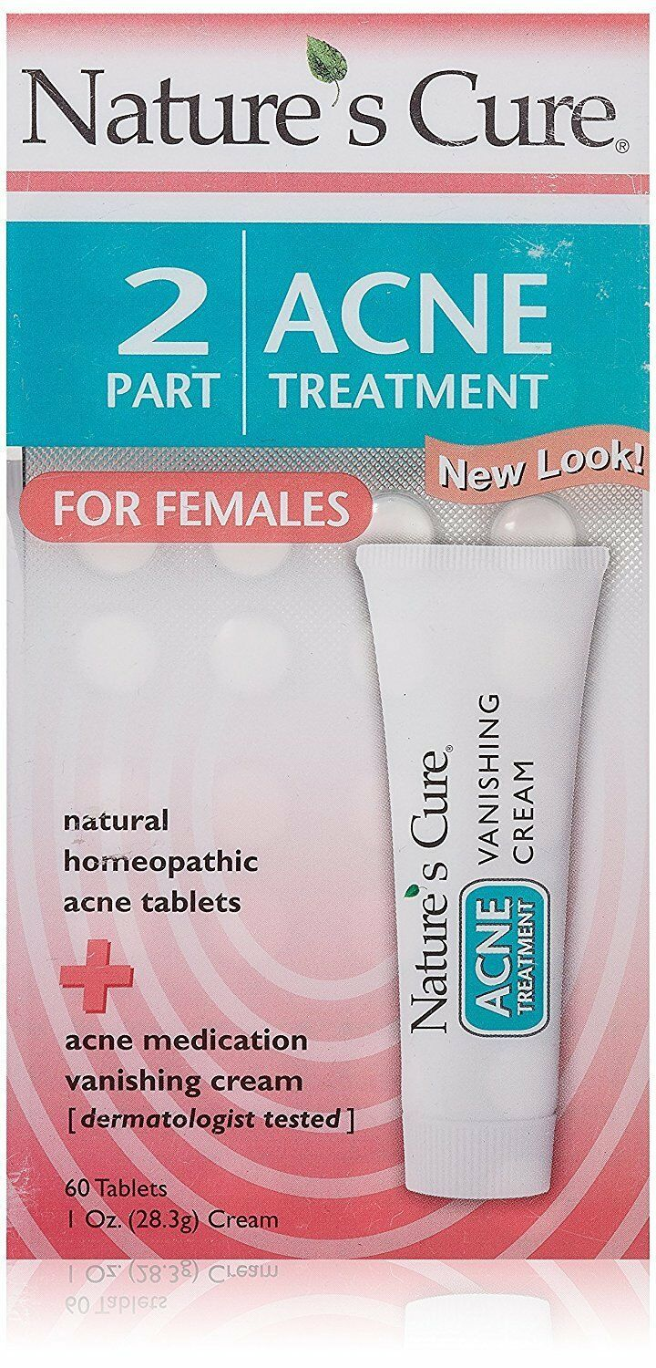 Nature's Cure Two-Part Acne Treatment System for Women 1 month: 60 TABS - $14.84