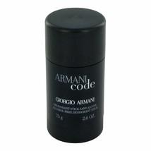 Armani Code Deodorant Stick 2.6 Oz / 75g for Men by Giorgio Armani - $22.40