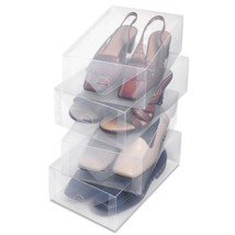 Whitmor 6362-2691-4 4-ct Clear Plastic Womens S... - $24.77