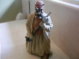 """10"""" Tusken Raider Figure w Gaderffii Stick 1996 Star Wars Applause  - $8.69"""