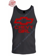 NEW RED WOMEN Chevy Girl Corvette Logo Tank Top - $16.99