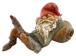 Top Collection Miniature Fairy Garden and Terrarium Garden Gnome Napping... - $19.38
