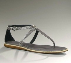 UGG Shoe Sandals Kennaria T Strap Grey or Beige Sizes 7 8 - $85.00