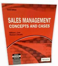 Sales Management Concepts Cases William Cron Thomas Decarlo 10th Ed Wile... - $13.36