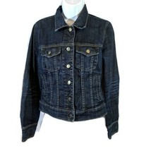 J.Crew Denim Jean Jacket Womens Size Small Style 75007 Blue Button Up Co... - $49.50