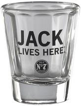 Jack Daniel's Licensed Barware Jack Lives Here Shot Glass, Made in USA - $12.86