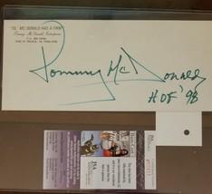 Tommy McDonald, HOF '98, signed envelope - $14.85