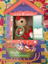 1996 North American Bear Co Muffy The Red-Nosed ReinBear Teddy Limited E... - $44.99