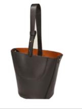 ZARA  RARE MINI STUDIO  LEATHER BUCKET BAG BNWT - $70.43