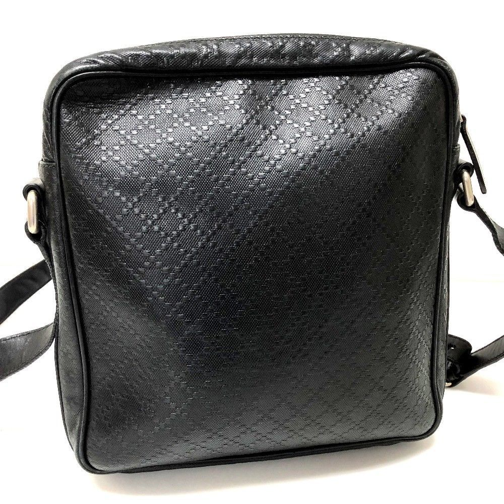 276f045d13a1e4 ... AUTHENTIC GUCCI Diamante Leather Pochette Crossbody Shoulder Bag Black  201448 ...