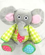 Tiny Tillia by Avon Baby Boom Multicolor E Elephant Makes Noise Elephant... - $12.16