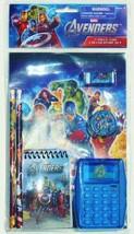 CAPTAIN AMERICA HULK 7-Pc. Back-to-School Stationery & Calculator Supply... - $8.30