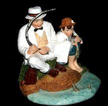 """Fishing"" by Norman Rockwell Figurine AA19-1655 Vintage image 3"