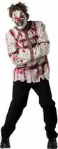 Incharacter Zirkus Psycho Clown Gerade Jacke Erwachsene Halloween Kostüm... - $31.48