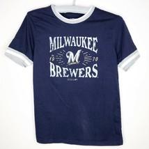 Milwaukee Brewers MLB Baseball T-Shirt Size Youth Large - $4.98