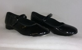 **Free Shipping** American Ballet Theatre Spotlights Tap Shoes Black, Kid's 11 - $21.00