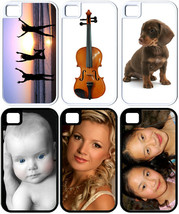 Personalized iPhone 4/4s/5/5s Custom Photo Hybrid Hard Plastic/RUBBER Cover - $7.95